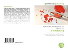 Bookcover of Bloodletting