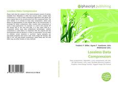 Bookcover of Lossless Data Compression
