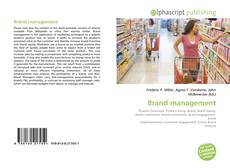 Capa do livro de Brand management