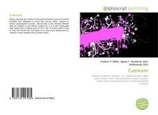 Bookcover of Caesium