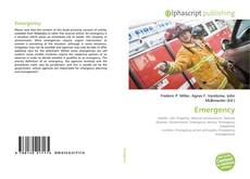 Bookcover of Emergency