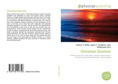 Bookcover of Christian Zionism