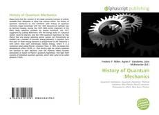 Portada del libro de History of Quantum Mechanics