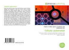 Bookcover of Cellular automaton