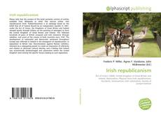 Bookcover of Irish republicanism