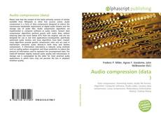 Bookcover of Audio compression (data)