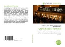 Grand Central Terminal kitap kapağı