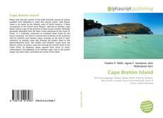 Bookcover of Cape Breton Island
