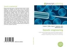 Borítókép a  Genetic engineering - hoz