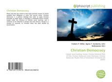 Portada del libro de Christian Democracy
