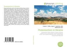 Bookcover of Protestantism in Ukraine