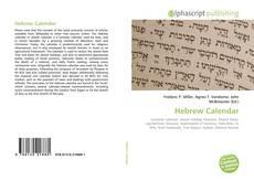 Hebrew Calendar的封面