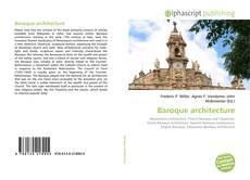 Buchcover von Baroque architecture
