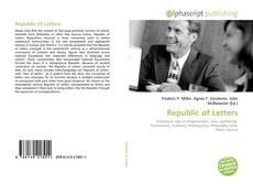 Bookcover of Republic of Letters