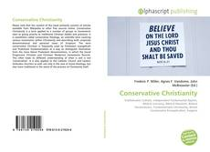 Bookcover of Conservative Christianity