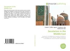Capa do livro de Secularism in the Middle East