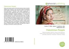 Bookcover of Palestinian People