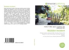 Bookcover of Mukden Incident