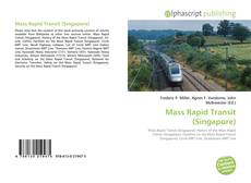 Capa do livro de Mass Rapid Transit (Singapore)