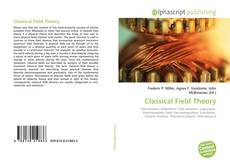 Bookcover of Classical Field Theory