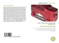 Buchcover von AM broadcasting
