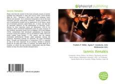 Iannis Xenakis kitap kapağı