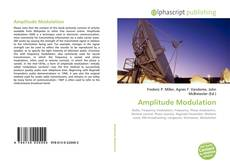 Bookcover of Amplitude Modulation