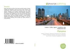 Capa do livro de Panama