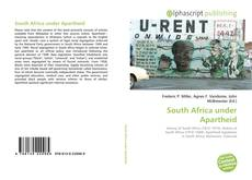 Bookcover of South Africa under Apartheid