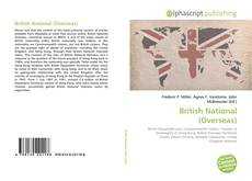 Bookcover of British National (Overseas)
