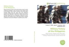Bookcover of Military history of the Philippines