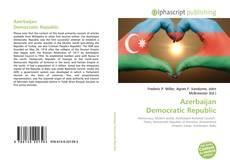 Copertina di Azerbaijan Democratic Republic