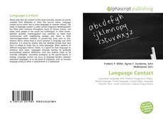 Bookcover of Language Contact