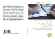 Bookcover of Certified Public Accountant