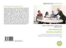 Bookcover of Development Communication