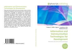 Copertina di Information and Communication Technologies for Development