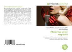 Buchcover von Interactive voice response