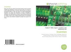 Bookcover of Invention