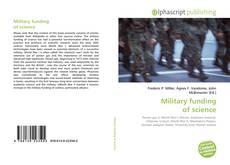 Обложка Military funding of science