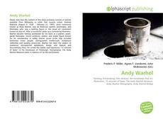 Capa do livro de Andy Warhol