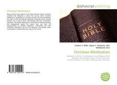 Capa do livro de Christian Meditation