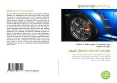 Couverture de Dual clutch transmission
