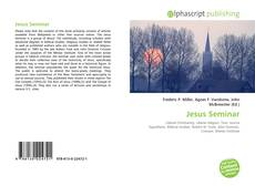 Bookcover of Jesus Seminar