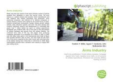Arms Industry kitap kapağı