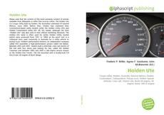 Bookcover of Holden Ute