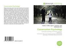 Bookcover of Conservation Psychology