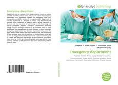 Emergency department kitap kapağı