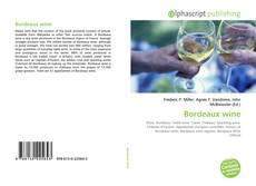 Обложка Bordeaux wine