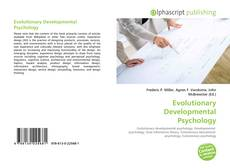 Обложка Evolutionary Developmental Psychology
