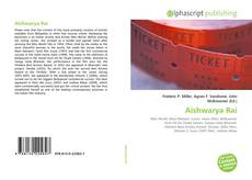 Bookcover of Aishwarya Rai